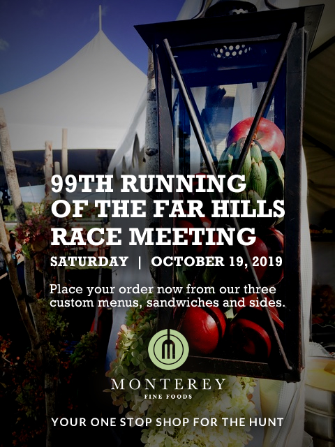 "Monterey is Your Main Food Stop for ""The Hunt"" Saturday October 19, 2019"